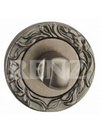 Завертка к ручкам декоративная, серебро античное 524 руб