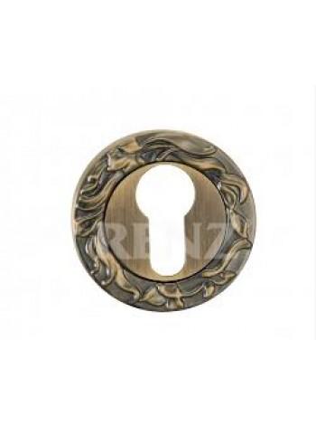 Накладка на цилиндр декоративная, бронза античная 440 руб