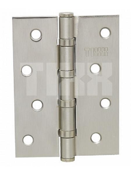 Петля стальная TIXX 100*75*2, плоск. колп. Цвет: ник. мат.