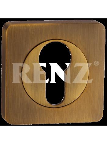 Накладка квадр. на цилиндр RENZ, лат.мат.-лат.бл.