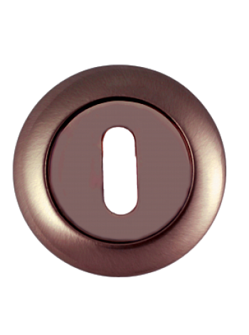 Накладка под сувальдный ключ RENZ, бронза ант.