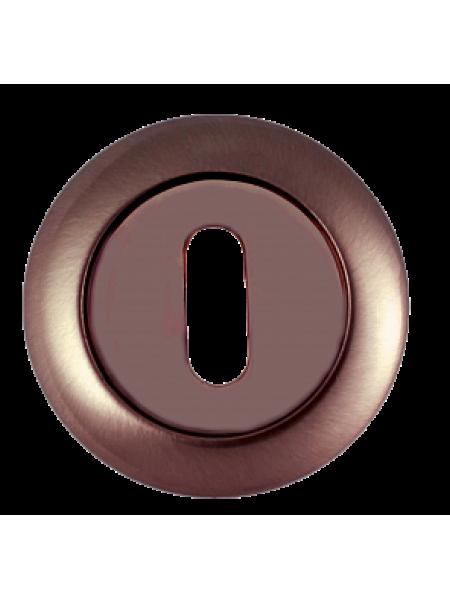 Накладка под сувальдный ключ RENZ, бронза ант. матовая