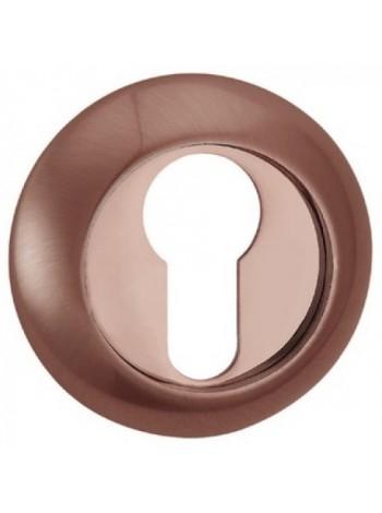 Накладка под сувальдный ключ RENZ, медь ант.