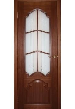 Межкомнатная дверь Кардинал темный орех