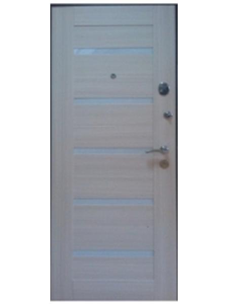 Металлическая дверь Анкона сандал белый
