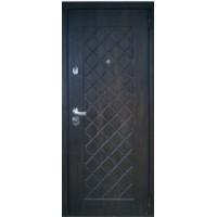 Металлическая дверь Ромбы Люкс